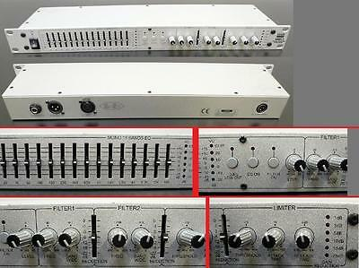 EQ / Equalizer Audioprocessing SMP-1 Stage Monitor processor DAP   NEUW / OVP  3