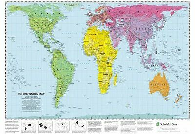Peters World Map Book (Poster) 9780721709338