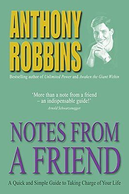 Notes from a Friend Book by Robbins  Tony (Paperback) 9780743409377