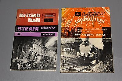 Ian Allan Abc British Rail/lner Steam Locomotives 2 Unmarked Copies