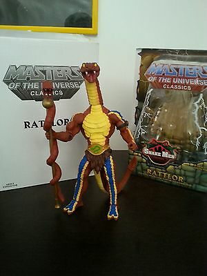 RATTLOR LOOSE motuc Masters of the Universe MINT CONDITION + BOX