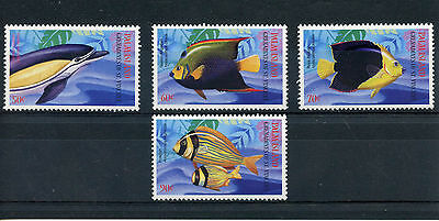 Palm Island Gren Vincent 2003 MNH Caribbean Marine Life 4v Fish Dolphins Stamps