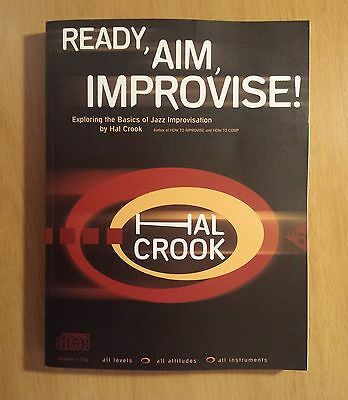 Ready, Aim, Improvise! Book and 2 CDs by Hal Crook