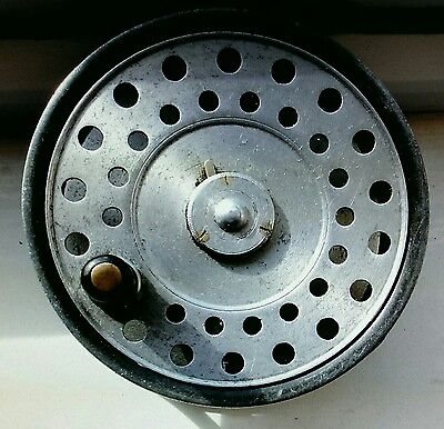 Rare Hardy  L.r.h. Fly Reel