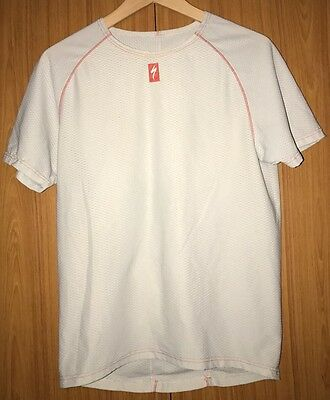 Specialized 1st Layer Short Sleeve Base Layer - Large - White