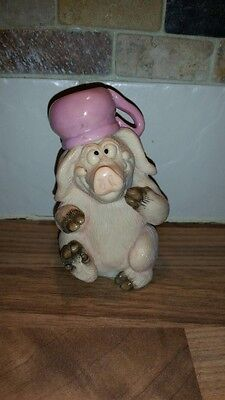 Piggin Potty - Collectable by David Corbridge - In Original Box