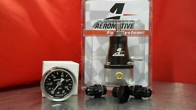 Aeromotive Regulator & Gauge & Fitting Kit (2) 6-AN (1) Plug 13129