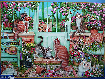 Catch Us If You Can 1000 Piece Gibsons  Jigsaw Used