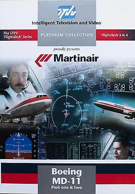 Martinair Boeing MD-11 DVD, by Intelligent Television and Video ITVV