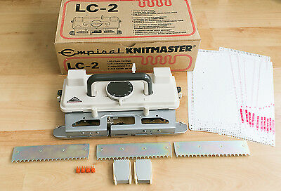 Empisal Knitmaster LC2 Lace carriage. Excellent condition!