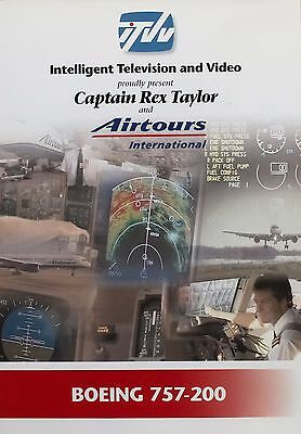 Airtours Boeing 757-200 DVD by Intelligent Television and Video ITVV