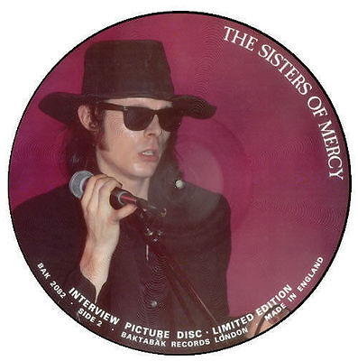Sisters Of Mercy Limited Edition Picture Disc Interview 12 Inch