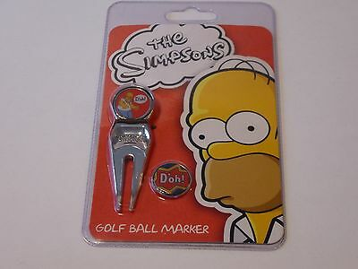 The Simpsons Golf Ball Marker Universal Studios