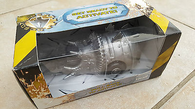Robot Wars Matilda Rare All Silver Pull Back & Go Toy Mint Condition