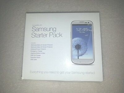 2 X Brand New Samsung S2/S3 Starter Pack Plus FREE Samsung S3 Docking Cradle
