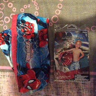 Spider-Man Swimming Pool And Beach Ball Set