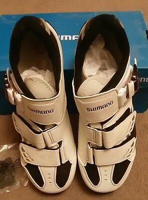 Shimano Sh-Wm63W Ladies Mtb Shoes Size 39 Bnib White/black