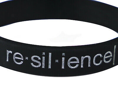 Arm Definition® Debossed Motivational Inspirational Silicone Wristband