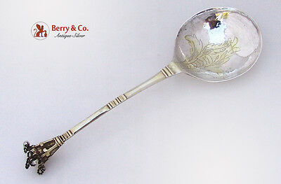 Swedish Antique 18th Century Serving Spoon Sterling Silver