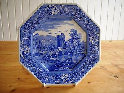 Spode Blue Room - Sutherland Collection - Hexagonal Lucano Plate