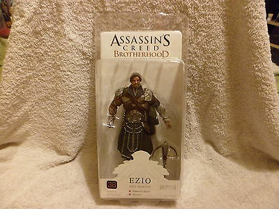 Assassins Creed Ezio Onyx Assassin Action Figure - Sealed In Box