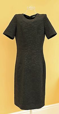 Paul Smith Ladies Designer Black Sheath Dress In Size 44 UK 12