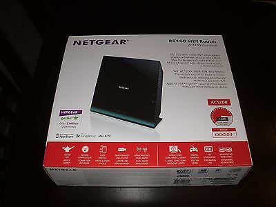 Netgear AC1900 867 Mbps 5-Port 10/100 Wireless AC Router (R6100)