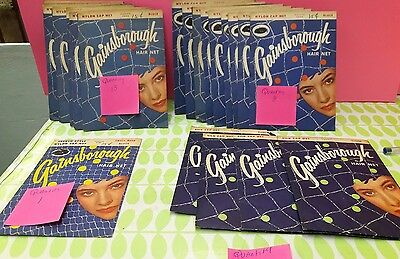 vintage hair nets lot of 28 by gainsborough