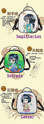 Cute Manga Style Star Sign Fashion Back Pack