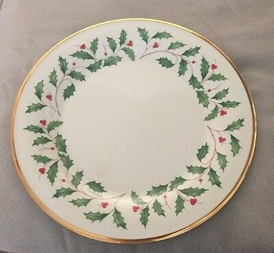 "Lenox ""Holiday"" (1) Dinner Plate...10 3/4""...1st Quality-Perfect-NWT"