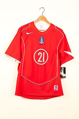 Park ji Sung Signed Player Issued South Korea Jersey