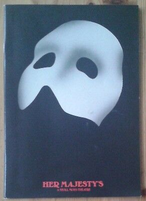 The Phantom of the Opera programme Her Majesty's Theatre 5/1997 Peter Cousens