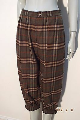 Burberrys, Vintage checked plus fours – Size 10/12.