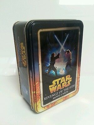STAR WARS: REVENGE OF THE SITH Movie Cards Collector's Tin, 2005, Lucasfilm