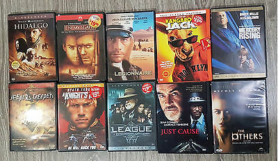 10 DVD WHOLESALE LOT, ASSORTED DVDS and NO DUPLICATIONS