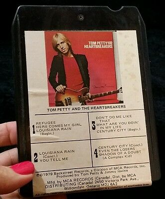Tom Petty And The Heart Breakers 1979 8 Track