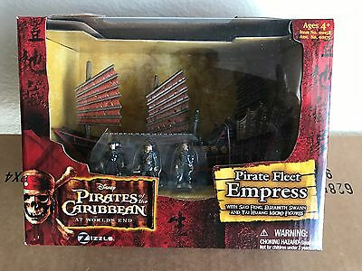 Pirates of the Caribbean: Pirate Fleet Empress with Sao Feng, Pirate King Elizab