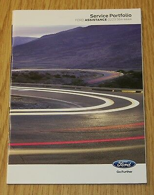 Genuine !!! Blank Ford Service History Book Petrol And Diesel No Duplicate !!