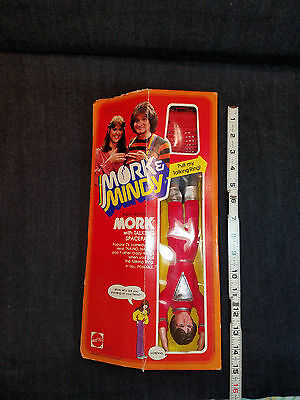 Robin Williams- Mork And Mindy Tv Show Vintage Mork Doll In Original Box