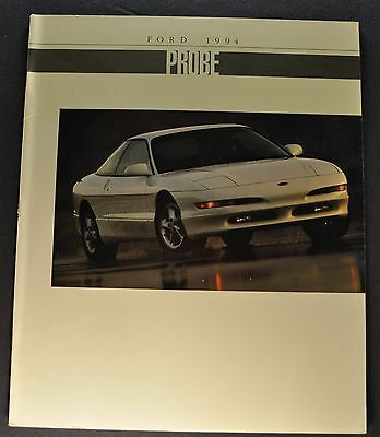 1994 Ford Probe Catalog Sales Brochure GT Nice Original 94