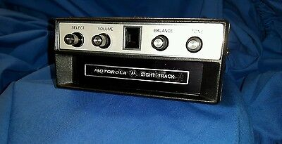 Motorola 8 Track Player Stereo New Old Stock Boxed Eight Track Head Unit