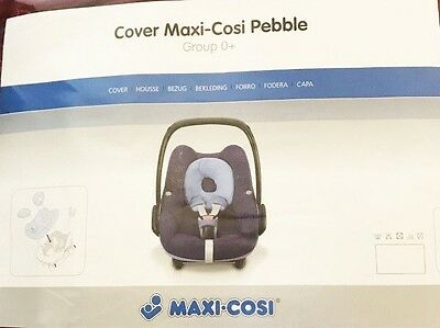 Maxi Cosi Pebble Car Seat Replacement Cover Set Genuine NEW