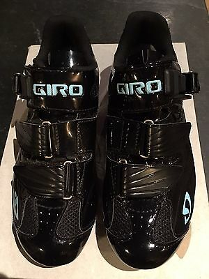 Giro Solara Black Ladies Cycling Shoes New Boxed Size 37