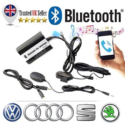 BLUETOOTH Interface Car Kit - MUSIC & HANDFREE for OEM Radio Audi A3 A4 TT