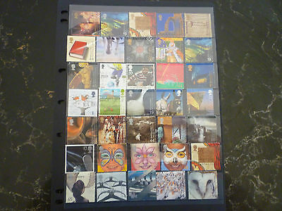 British stamps - selection of 35 all different - postage used unhinged condition