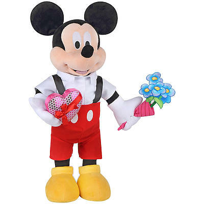 Disney's Mickey Mouse Valentine Day Greeter with Hearts flowers GIFT FOR YOUR ..