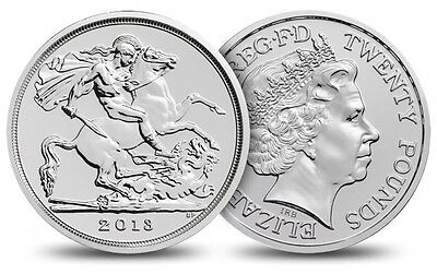 2013 Great Britain St George and the Dragon £20 Silver Coin