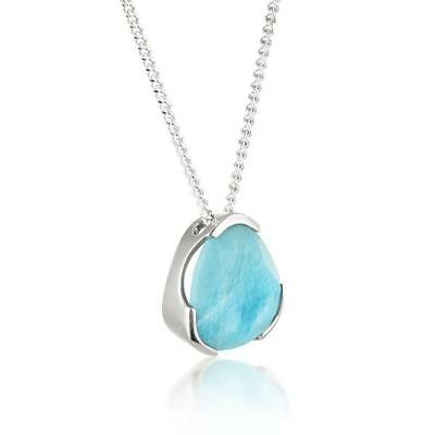 NEW Handcrafted Jewellery Everyday Cocktail Necklace Larimar