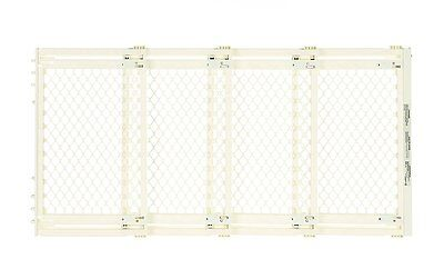 North States BABY GATE, Supergate Extra Wide SAFETY GATE, Ivory