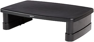 AmazonBasics Adjustable Monitor Stand FREE SHIPPING (BRAND NEW)